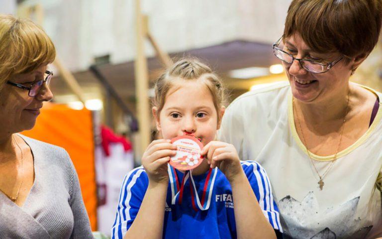 Исследование: насколько доступен спорт для детей с синдромом дауна