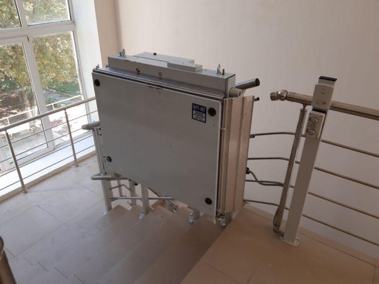 Монтаж подъёмника БК-350 в Геленджике